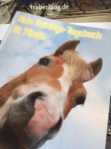Lese-Traber: Rezension & Gewinnspiel von Mein Trainings-Tagebuch für Pferde [werbung]