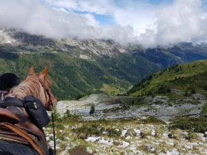 Alpenüberquerung zu Pferd