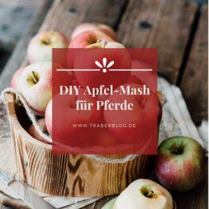 DIY Apfel-Mash für Pferde