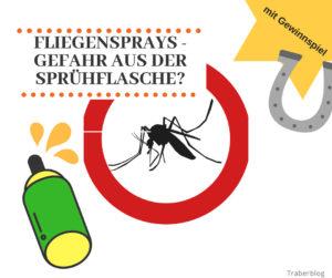 Fliegenspray für Pferde – Gefahr aus der Sprühflasche? [Verlosung & Werbung]
