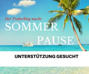 Der Traberblog macht Sommerpause